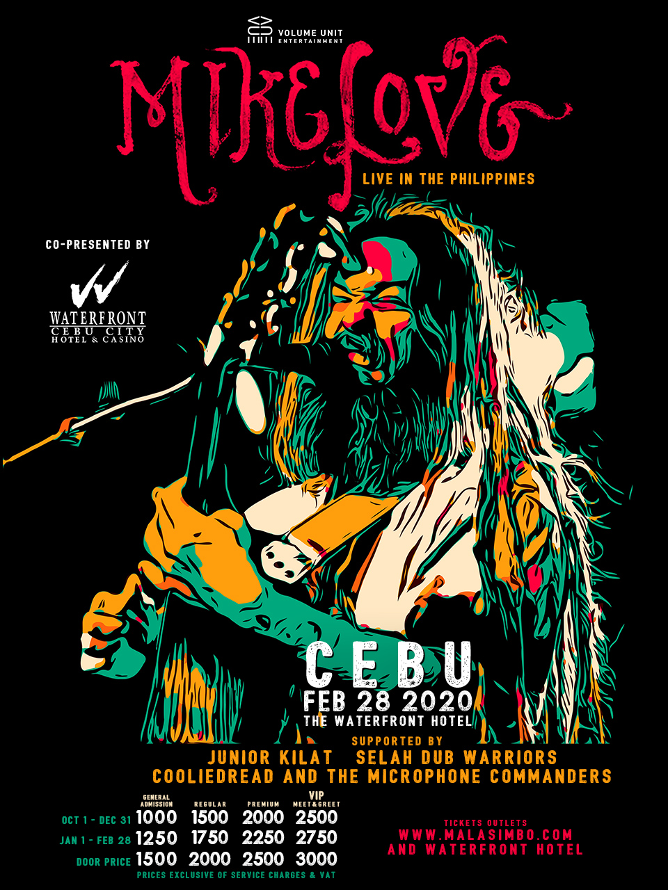 Mike Love Live in Cebu - Feb 28 2020 at the Waterfront Hotel